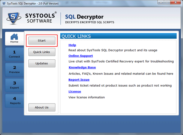 SQL Decryptor Windows